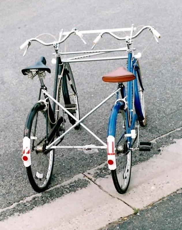 Blackbird Bikes EZ Quadribent side-by-side recumbent bicycles